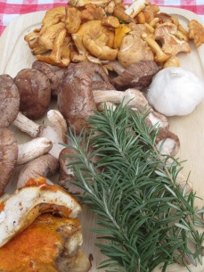 Rosemary and garlic compliment the mushrooms perfectly!